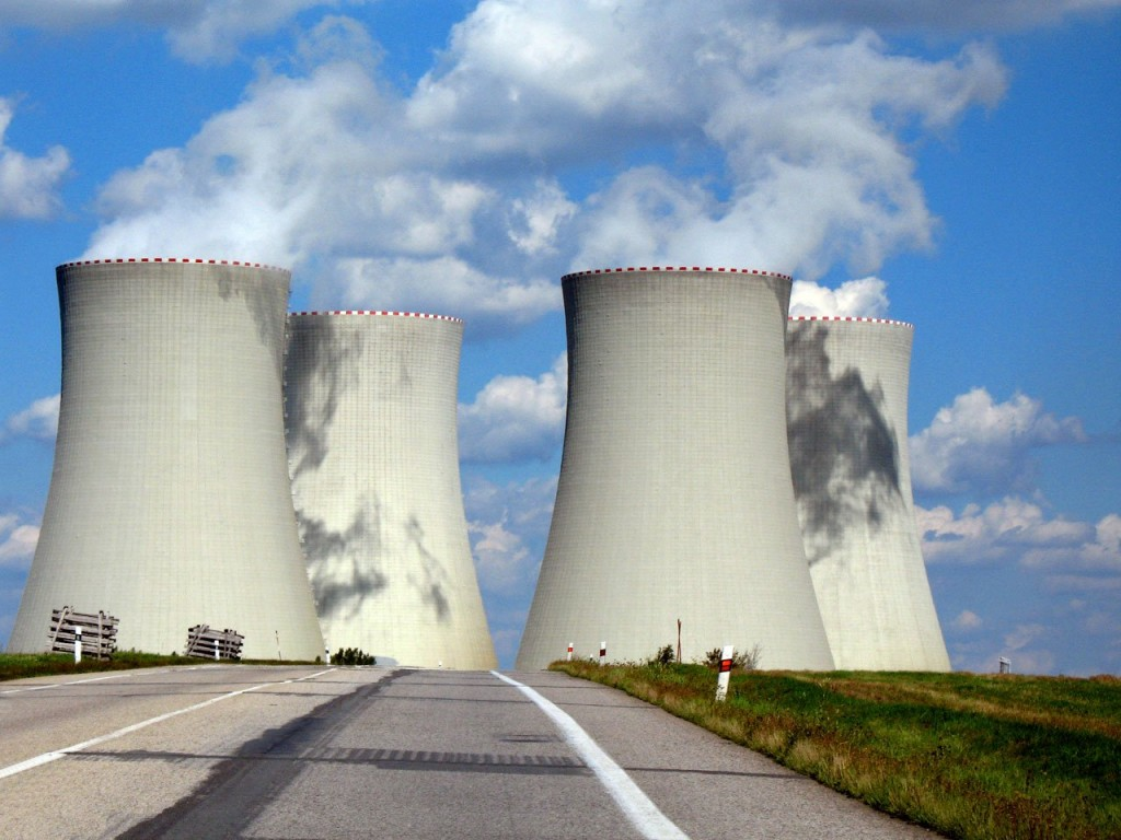Nuclear power plant - Cooling towers