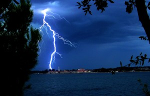 Lightning – huge amount of released energy in very short time period.