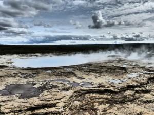 Iceland hot geysir