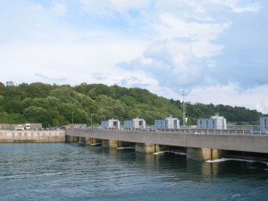 River rance tidal power plant