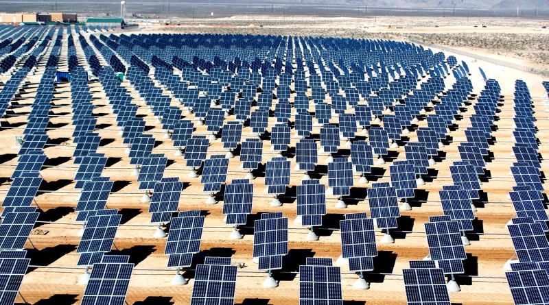 Solar energy facts main picture.