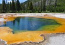 Geothermal energy - Yellowstone hot spring