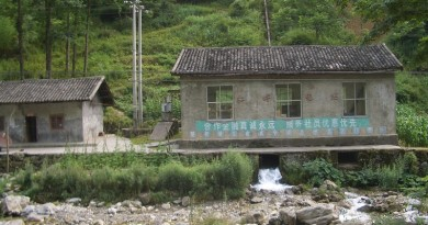 Small hydro - Hongping power station